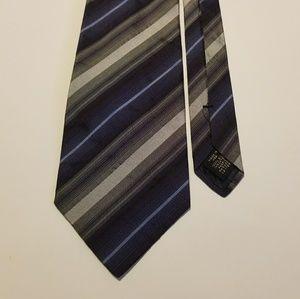 Banana Republic Neck Tie Striped 100% Silk